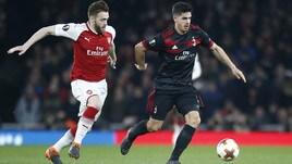 Europa League Milan-Arsenal 3-1, il tabellino