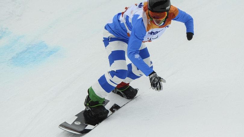 Banked slalom UL, Luchini a tre centesimi dal podio