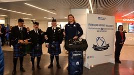 La Scozia a Fiumicino trova le cornamuse