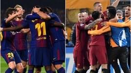 Barcellona-Roma, la sfida per ruolo per ruolo: è davvero una missione impossibile?