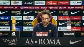 """Di Francesco: """"Out Perotti. Barcellona? Anche noi siamo contenti..."""""""