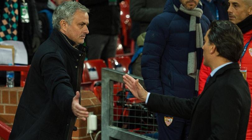 C B Siviglia Montella Mourinho Si E Dimostrato Grande Persona E Tecnico Vincente Champions League