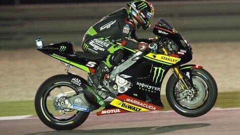 MotoGp Qatar, griglia di partenza: Zarco primo, Rossi ottavo