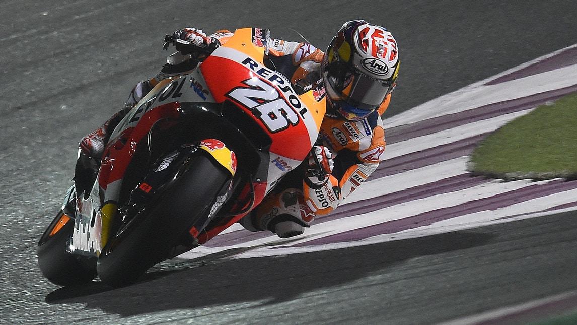Il francese Zarco sulla Yamaha Tech3 partirà davanti a tutti nel Gp del Qatar