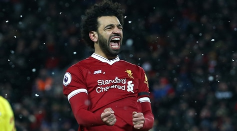 Premier League, Salah re di Anfield Road: 4 gol, assist e record