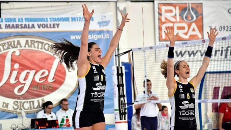 Volley: A2 Femminile, Brescia stasera è prima, Trento perde un punto