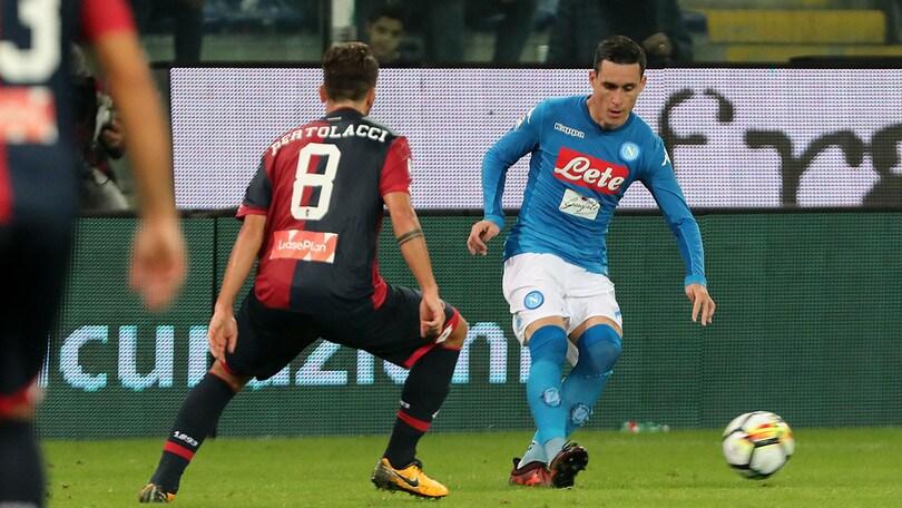Serie A Napoli-Genoa, formazioni ufficiali e tempo reale alle 20.45. Dove vederla in tv