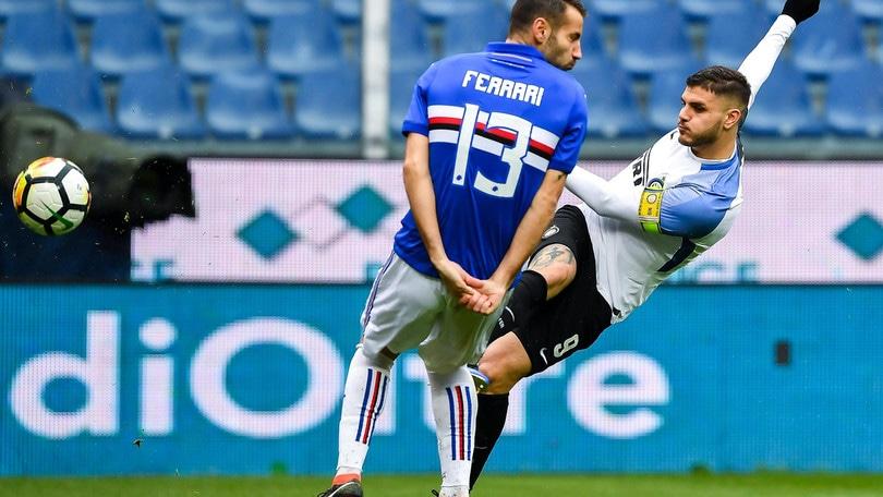 Serie A Sampdoria-Inter 0-5, il tabellino