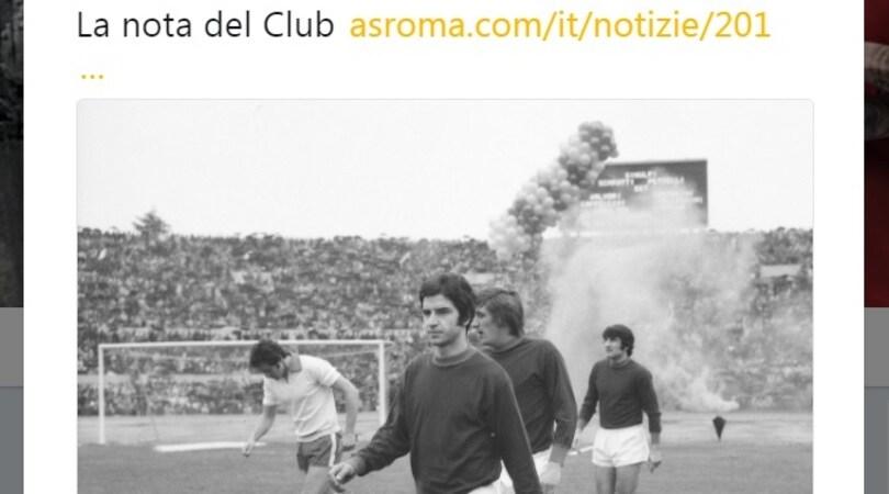 Lutto in casa Roma, morto Stefano Pellegrini