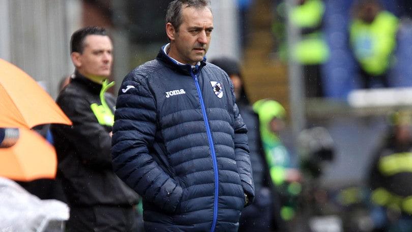 Serie A Sampdoria, Giampaolo: «Evidentemente non siamo all'altezza»