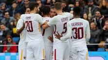 Serie A, Crotone-Roma 0-2: a segno El Shaarawy e Nainggolan