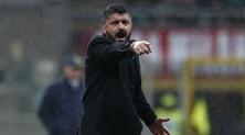 Milan, Gattuso: «Aiutati dal Var. Kalinic? Chi non si allena bene sta a casa»