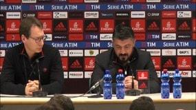 """Gattuso: """"Il mio rinnovo? Non è la priorità"""""""