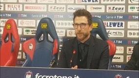 """Di Francesco: """"Turnover in parte obbligato"""""""