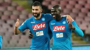 Napoli, è festa grande dopo la vittoria contro il Genoa