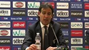 """Inzaghi:""""Siamo stanchi e poi l'Olimpico non permette di giocare a calcio"""""""