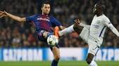 Barça, ottimismo per Busquets: può recuperare per la Roma