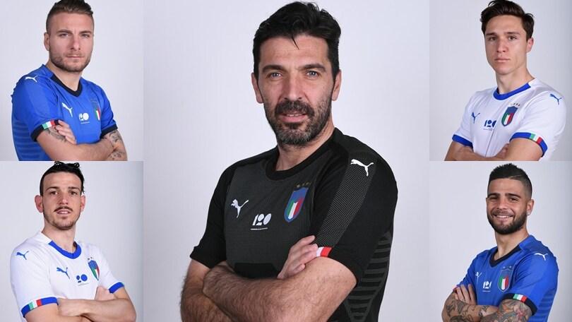"""Italia, a Coverciano è lo """"shooting day"""""""