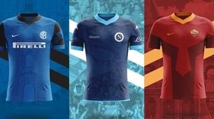 Le maglie delle squadre di Serie A ispirate alle...città!