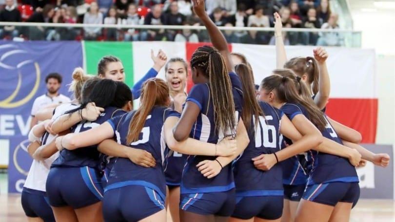 Volley: l'Under 17 Femminile prepara l'Europeo al Centro Pavesi
