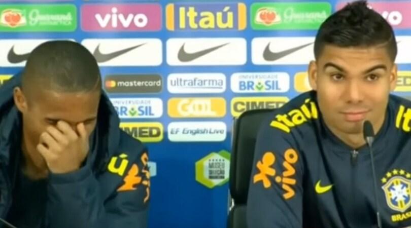 Douglas Costa e Casemiro: «Juventus-Real? C'è tempo...»