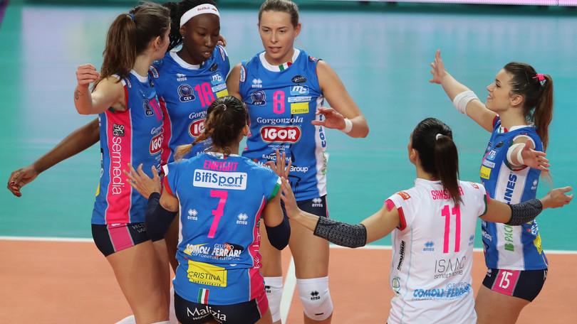 Volley: Champions League, Novara e Conegliano in campo per l'andata dei Play Off 6