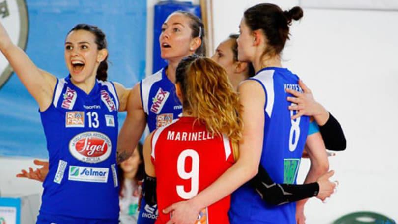 Volley: A2 Femminile, mercoledì in campo per la 31a giornata