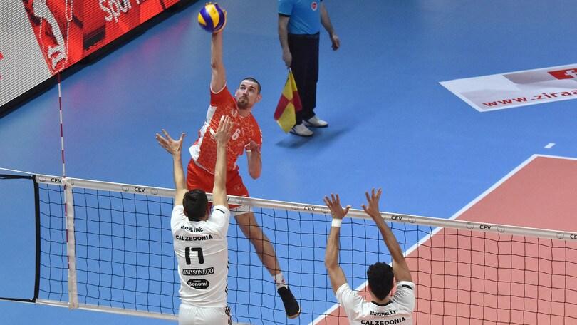 Volley: Cev Cup, Verona sfiora soltanto l'impresa ad Ankara