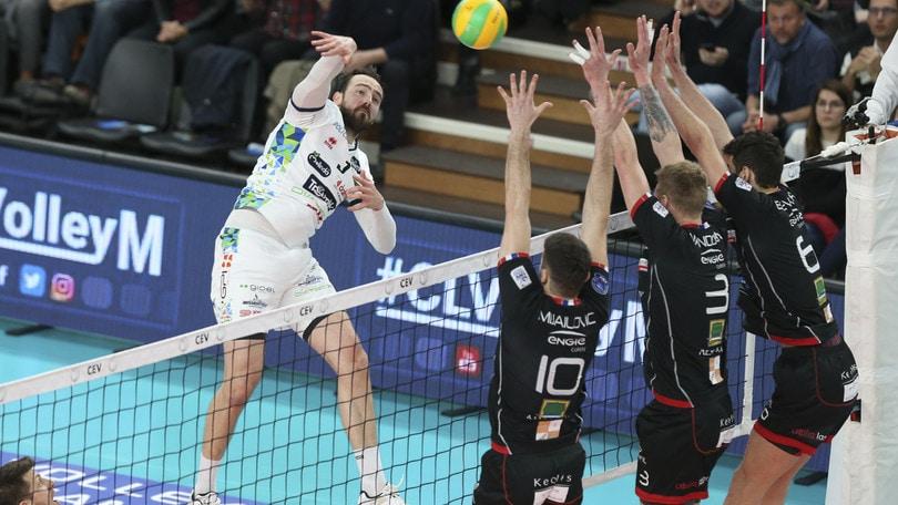Volley: Champions League, Trento batte lo Chaumont ed è ai Play Off 6