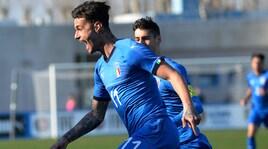 L'Italia U19 vola con super Scamacca: doppietta alla Grecia