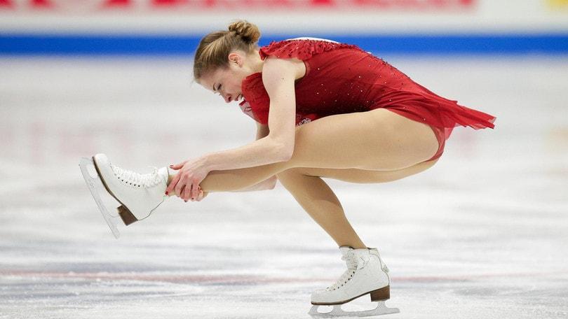 Carolina Kostner super ai Mondiali di pattinaggio