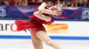 Carolina Kostner incanta ai Mondiali di pattinaggio