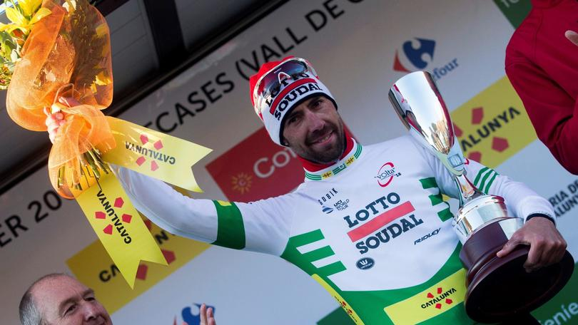 Giro Catalogna: De Gendt leader