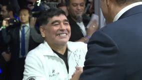 Match of Friendship, Materazzi stende Maradona