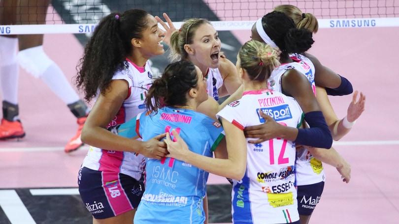 Volley: Champions League, Play Off 6: Novara fa il colpo in Turchia