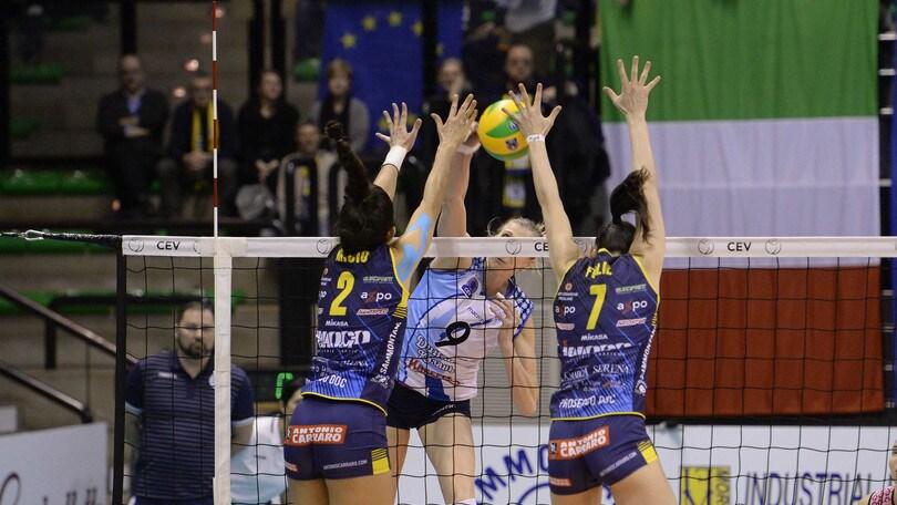 Volley: Champions League, Conegliano perfetta: travolta la Dinamo Kazan