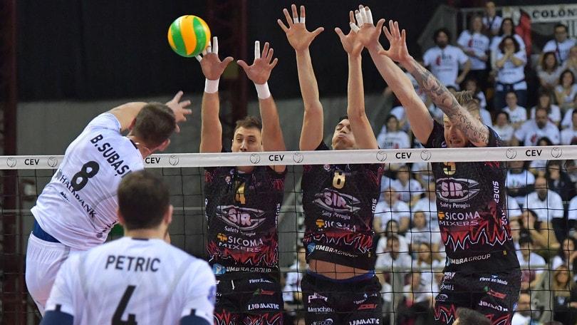 Volley: Champions League, Perugia non sbaglia, sconfitta l'Halkbank