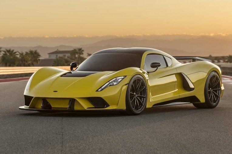Venom F5, la supercar americana a caccia di record