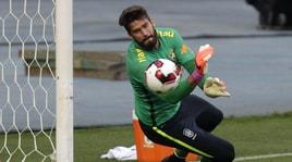 Alisson capitano del Brasile: «Ho lavorato molto duramente a Roma»