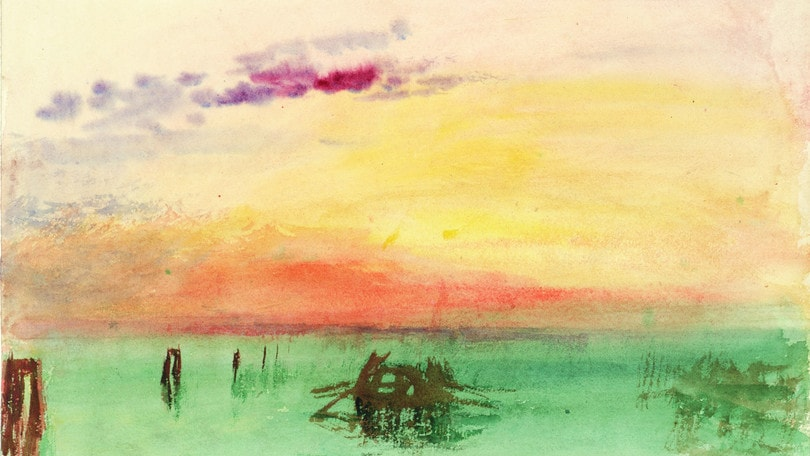 Turner, pittura e luce