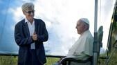 Arrivano le prime foto sul documentario di Wenders su Papa Francesco