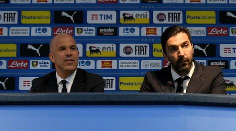 Italia,Di Biagio: «Ripartiamo». Buffon: «Mi contestano? Siamo un paese strano»