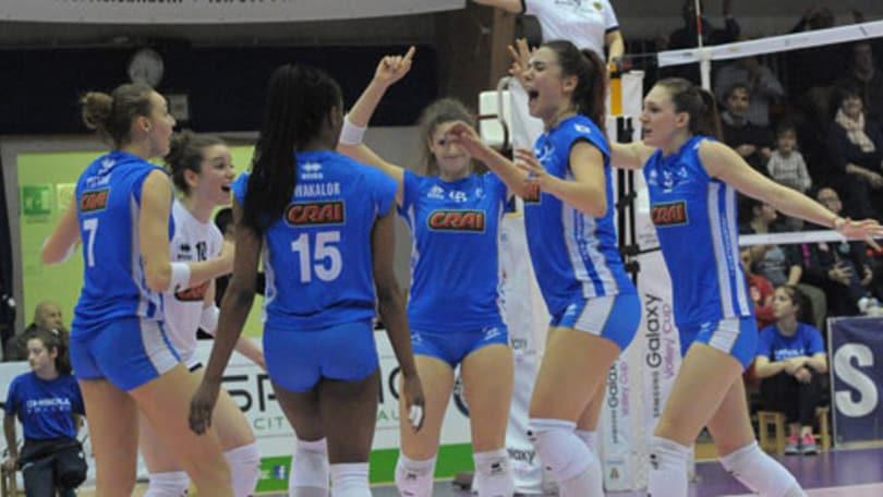 Volley: A2 Femminile, il Club Italia corsaro sul campo di Chieri