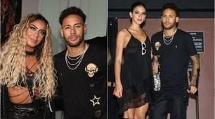 Neymar e Rafaela, party in stampelle