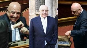 Galliani, primo giorno al Senato: «Spero di non avere nessun attacco dalle curve»