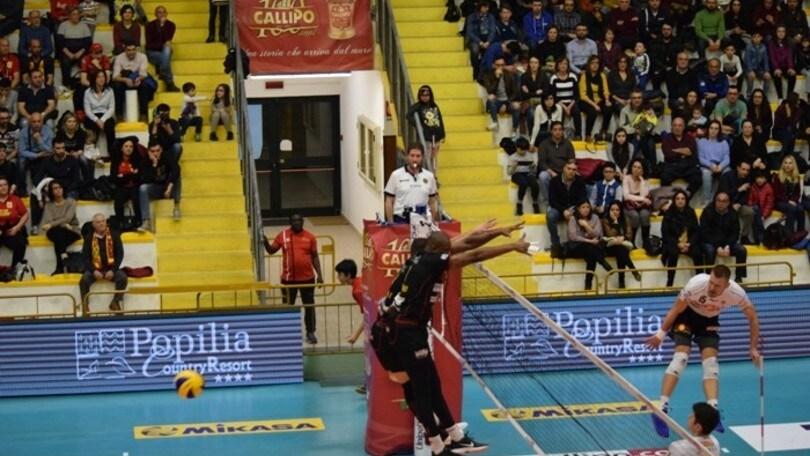 Volley: Play Off Challenge, Vibo-Sora da dentro o fuori