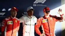 F1, griglia di partenza Gp Australia: Hamilton in pole, Vettel 3°