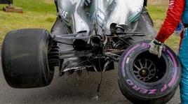 Formula 1, il violento incidente di Bottas