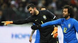 Russia-Brasile 0-3: la Seleçao già vola con Miranda, Coutinho e Paulinho