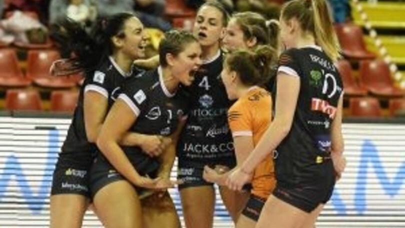 Volley: A2 Femminile, per Perugia una vittoria per la salvezza